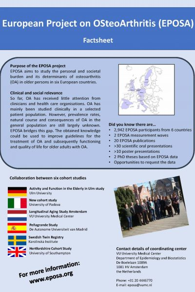 EPOSA General information