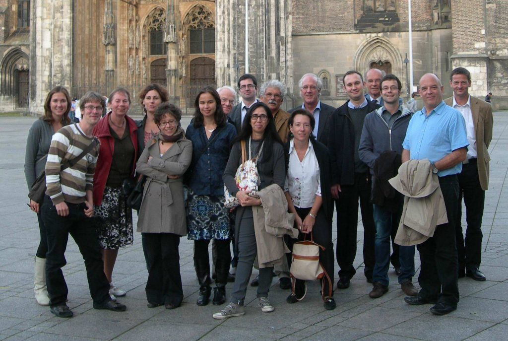 EPOSA workgroup in front of Ulm Cathedral